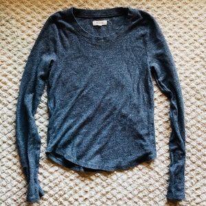 Madewell Dark Grey Long Sleeve, Small